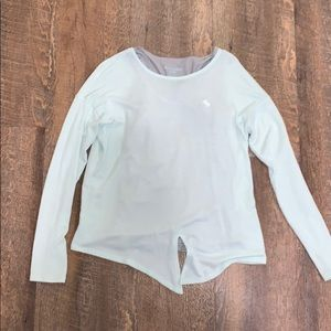 Abercrombie Kids 13/14 light blue long sleeve